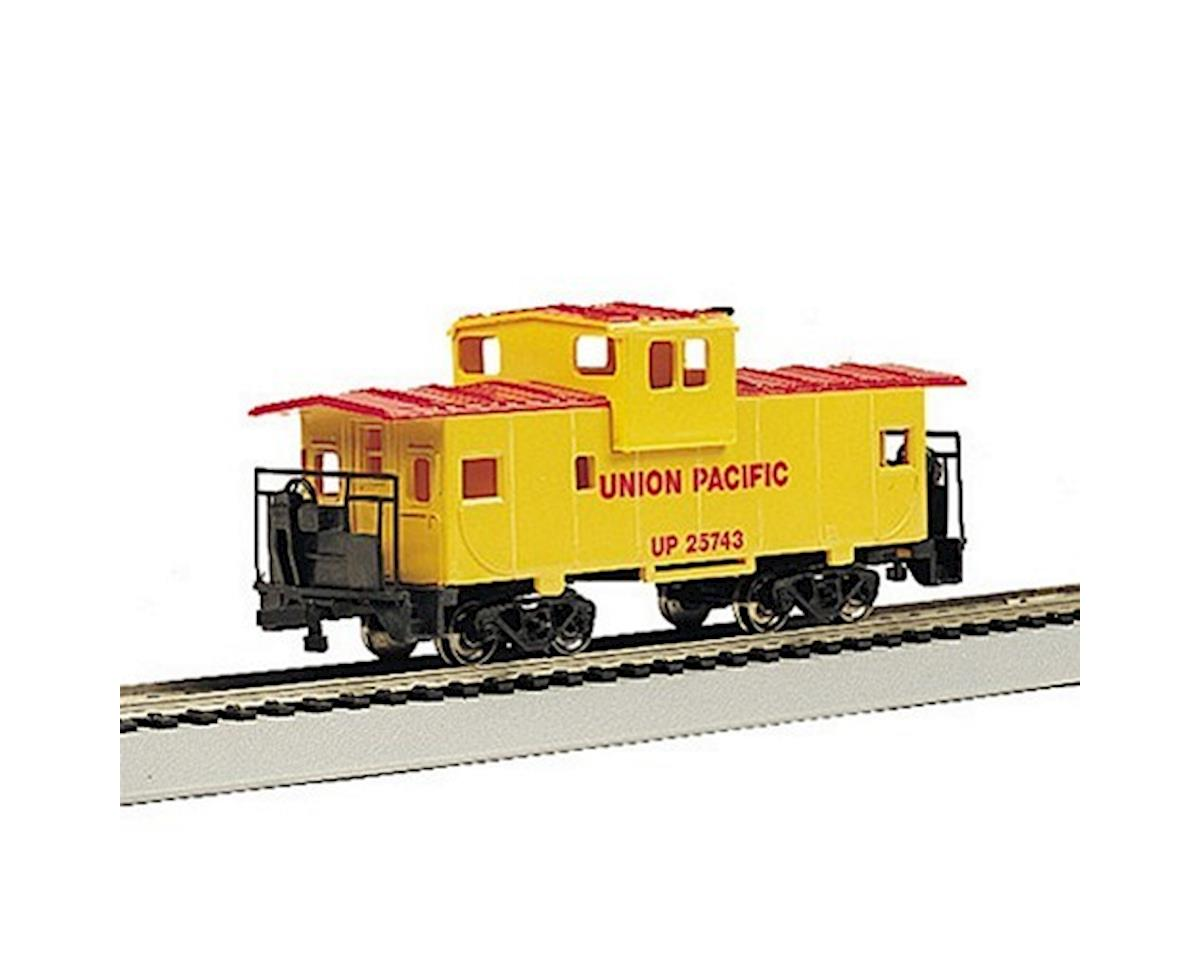 HO RTR SS 36' Wide Vision Caboose, UP by Bachmann