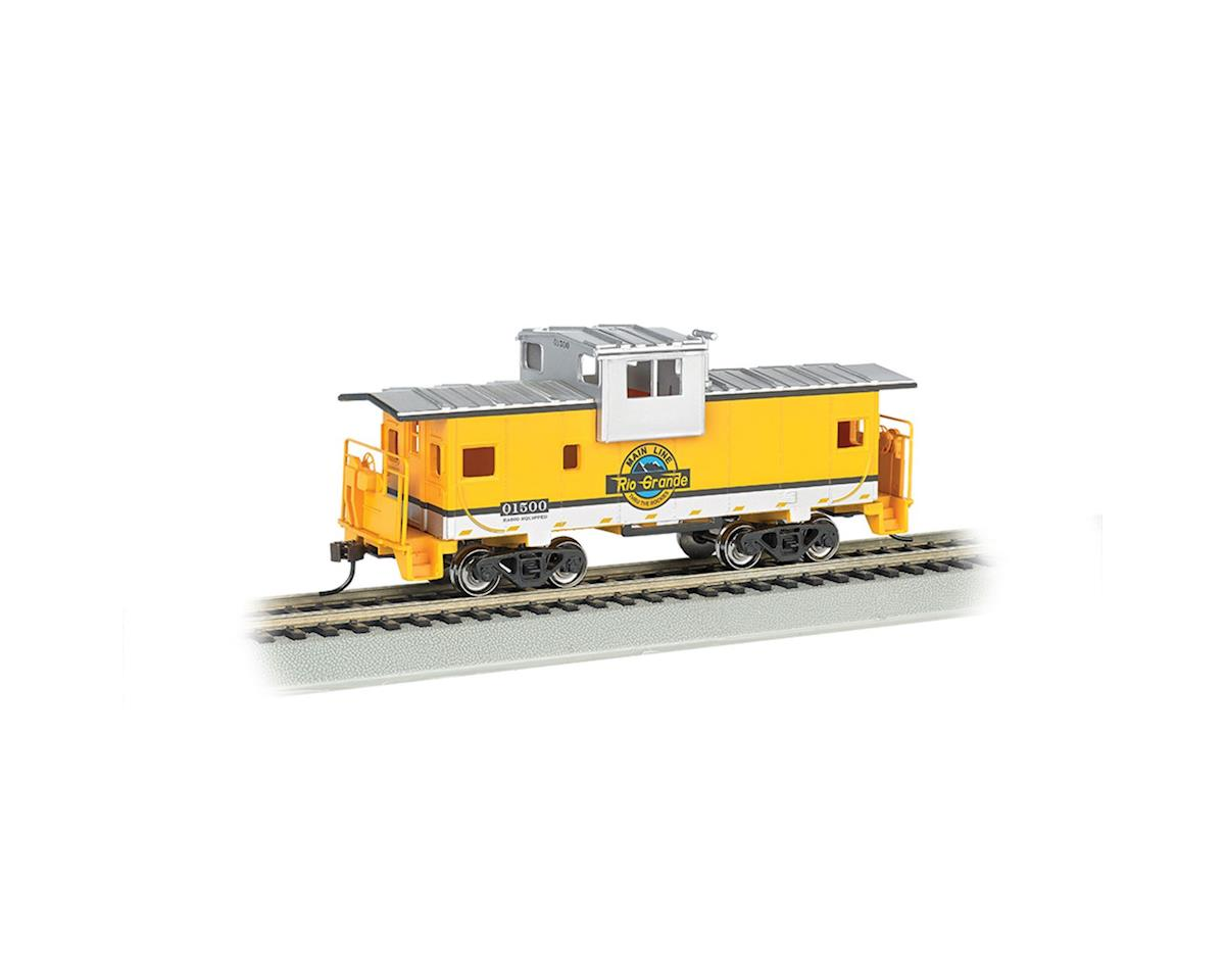 Bachmann HO 36' Wide Vision Caboose, D&RGW