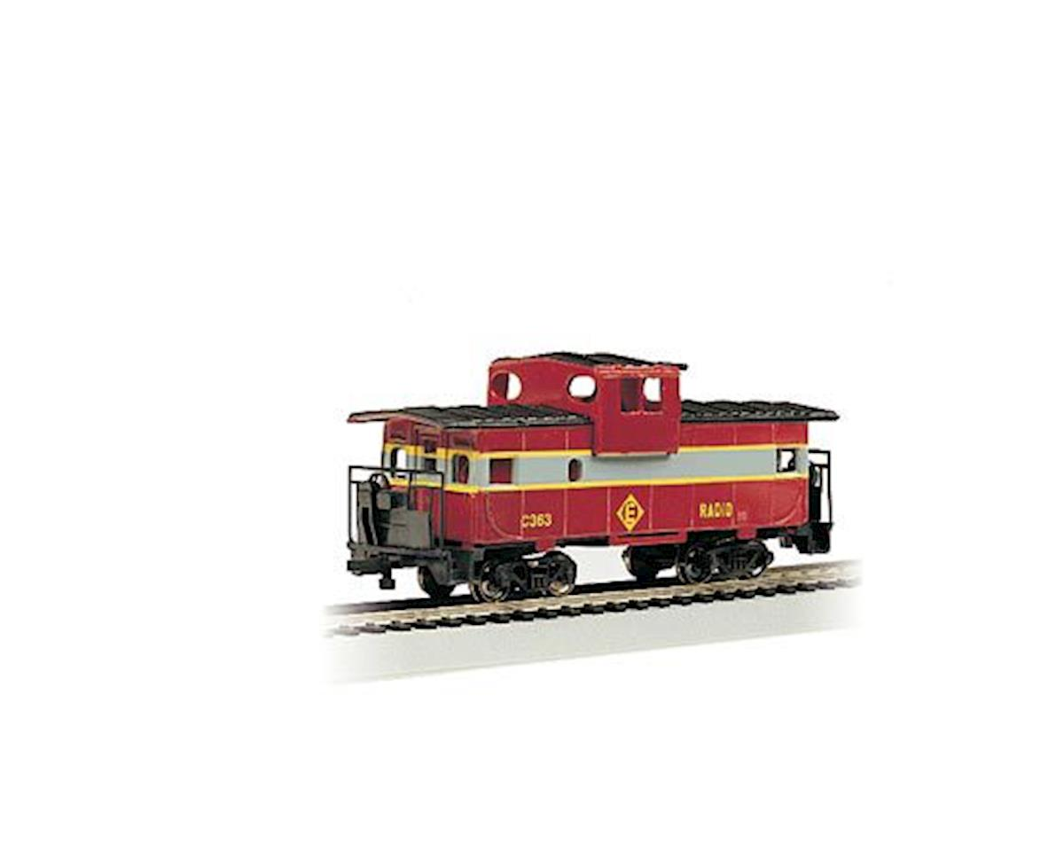 Bachmann HO RTR SS 36' Wide Vision Caboose, EL