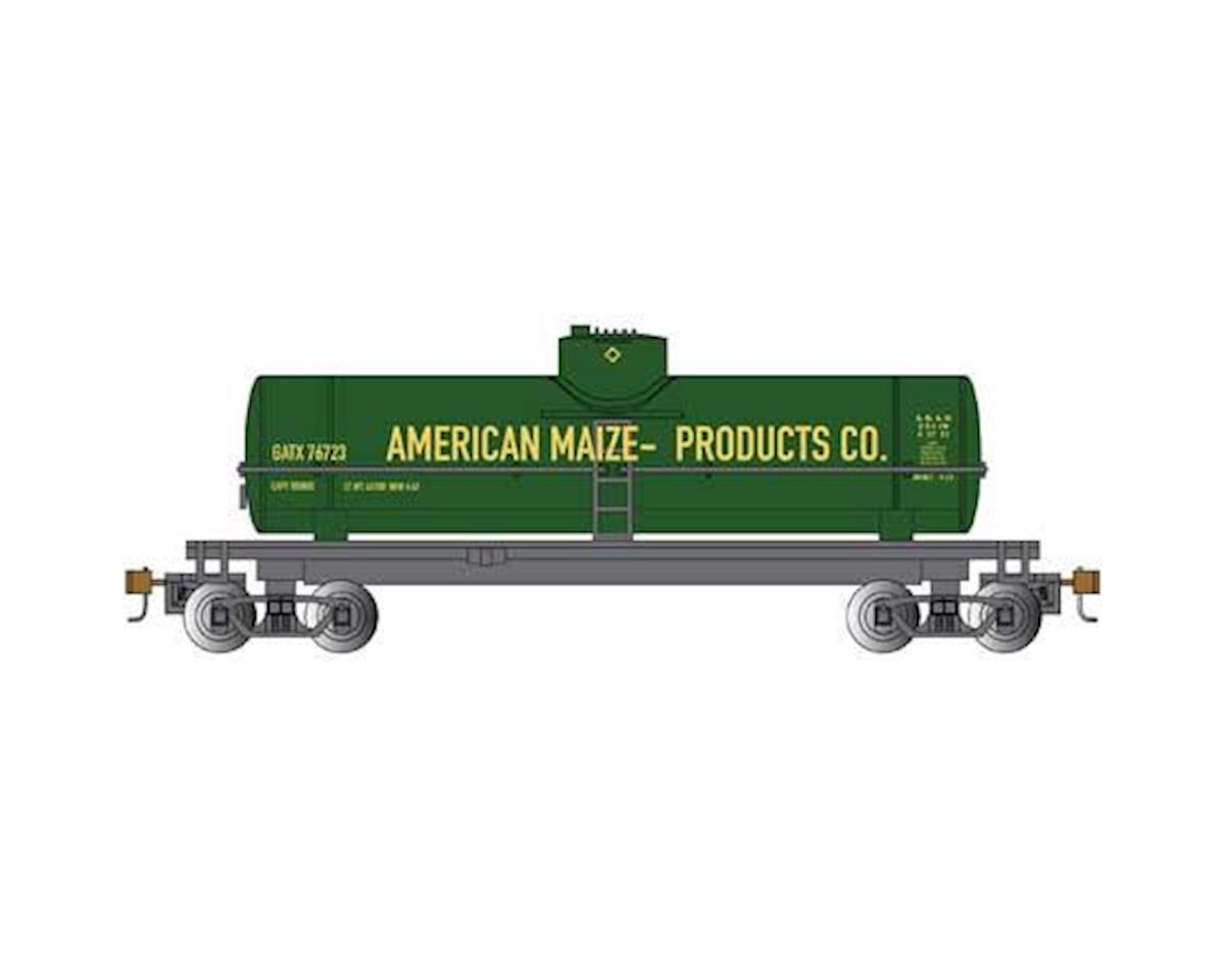 Bachmann HO 40' 1-Dome Tank, American Maize Prodcuts Co