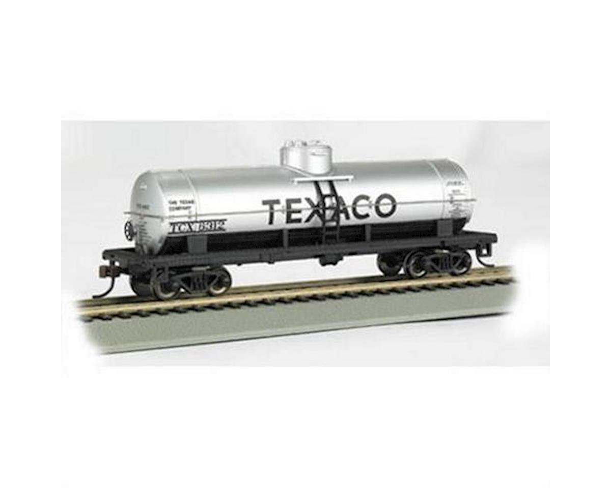 HO RTR SS 40' 1-Dome Tank, Texaco by Bachmann