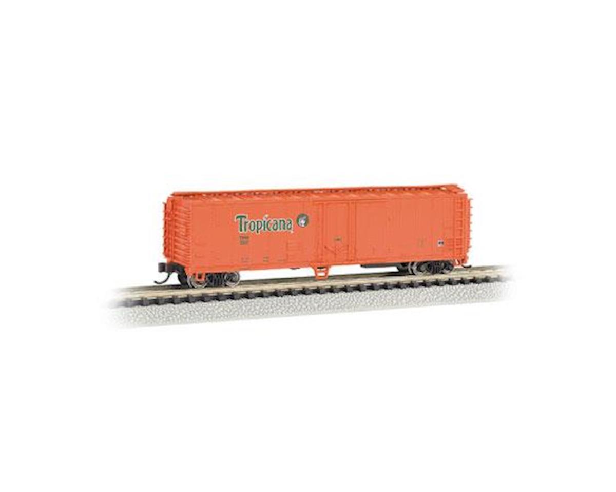 N 50' Reefer, TPIX/Orange by Bachmann