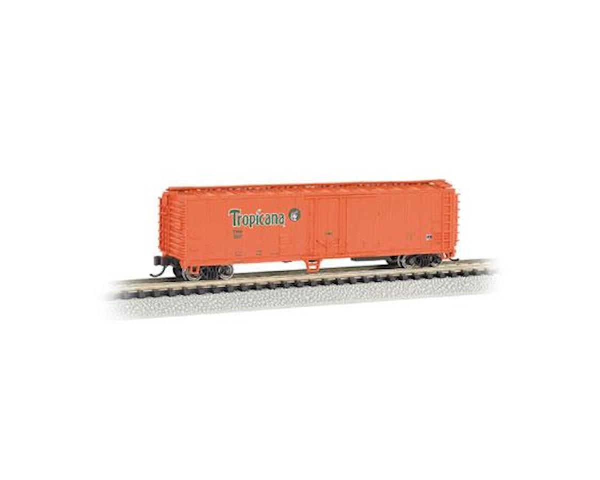 Bachmann N 50' Reefer, TPIX/Orange