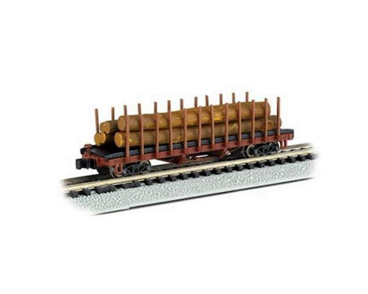 N RTR ACF 40' Log Car 1906-1935 by Bachmann