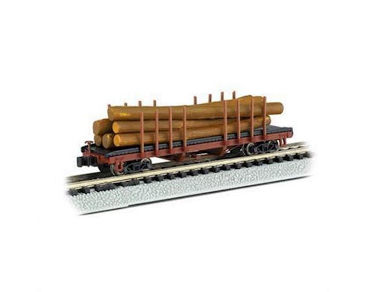 N RTR ACF 40' Log Car 1935-1960 by Bachmann