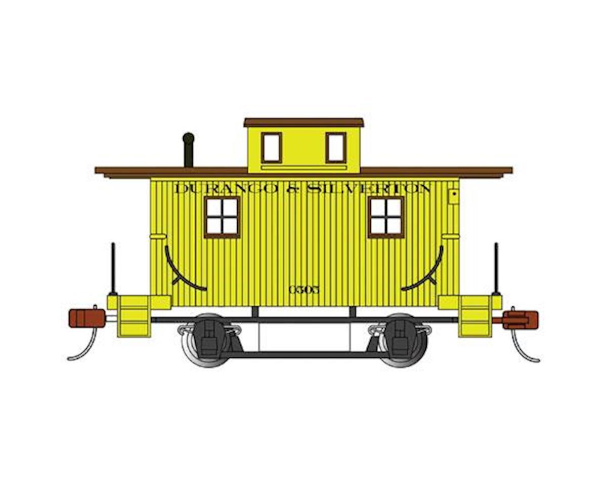 HO 50' Plug Box, Durango & Silverton by Bachmann