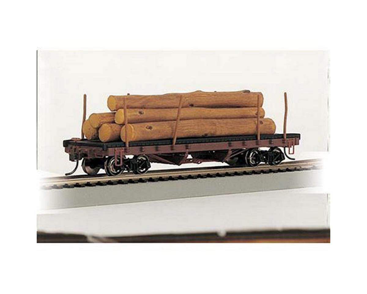 Bachmann HO RTR SS ACF 40' Log Car w/Logs 1935-1960