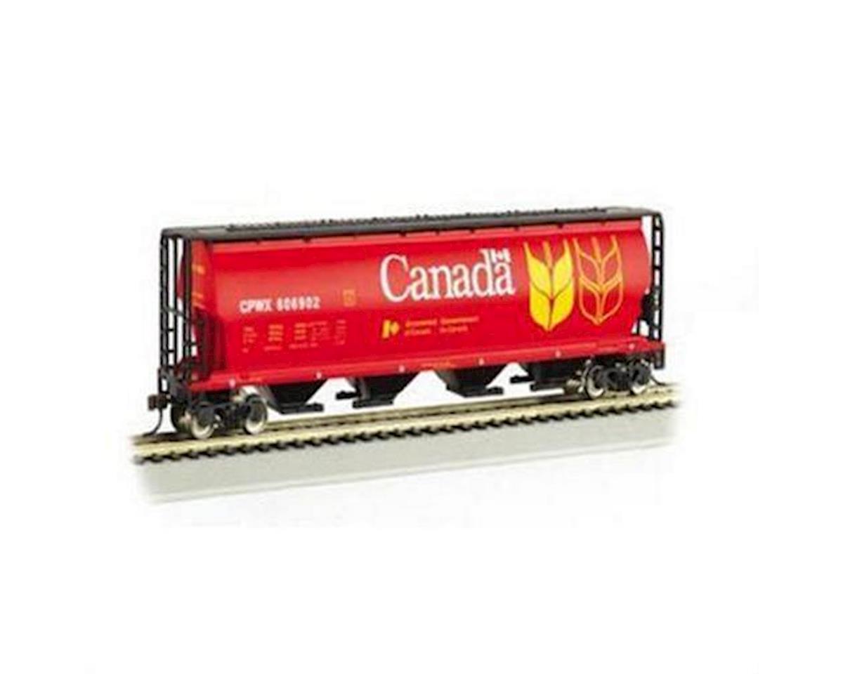 HO RTR SS Cylindrical Hopper, Canada Grain by Bachmann