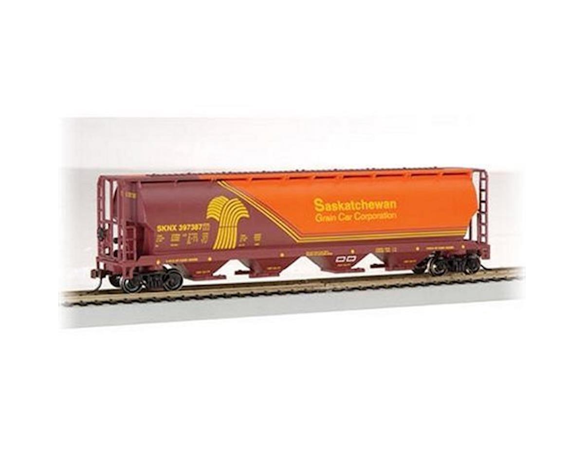 Bachmann HO RTR SS Cylindrical Hopper, SKNX/Saskatchewan
