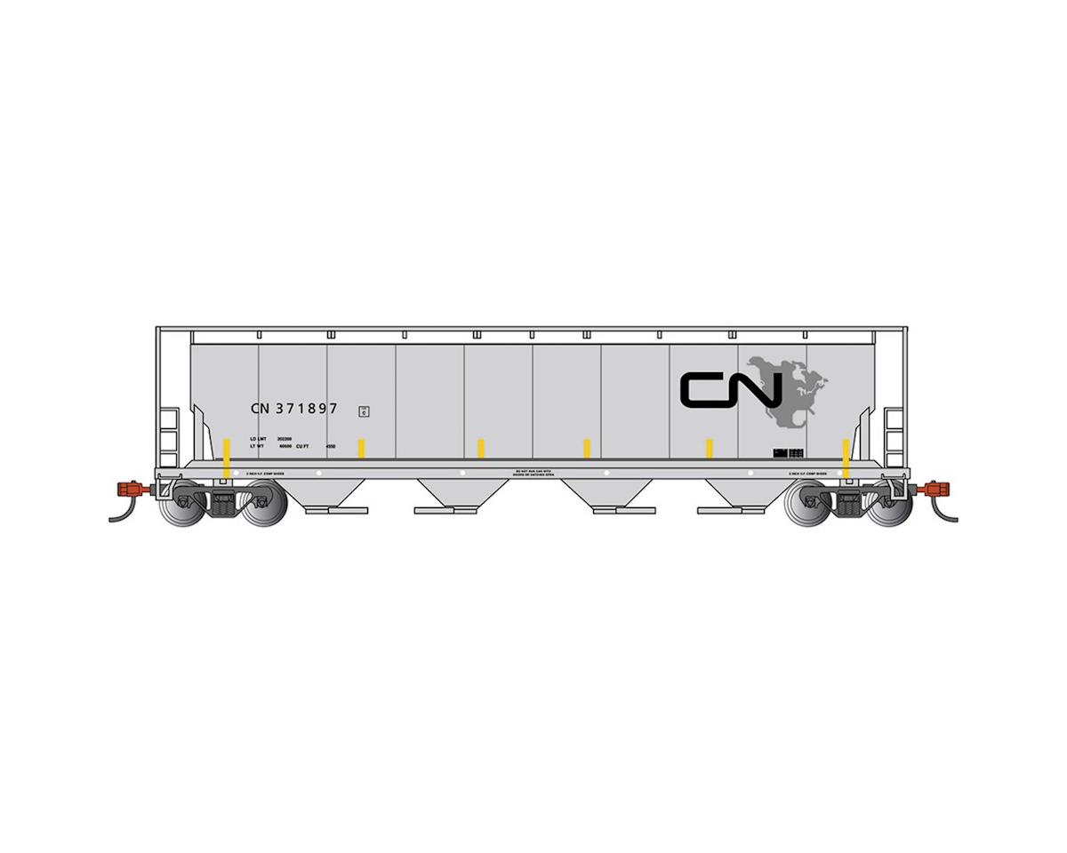 Bachmann N 4Bay Cylindrical Hopper, CN/North American Logo