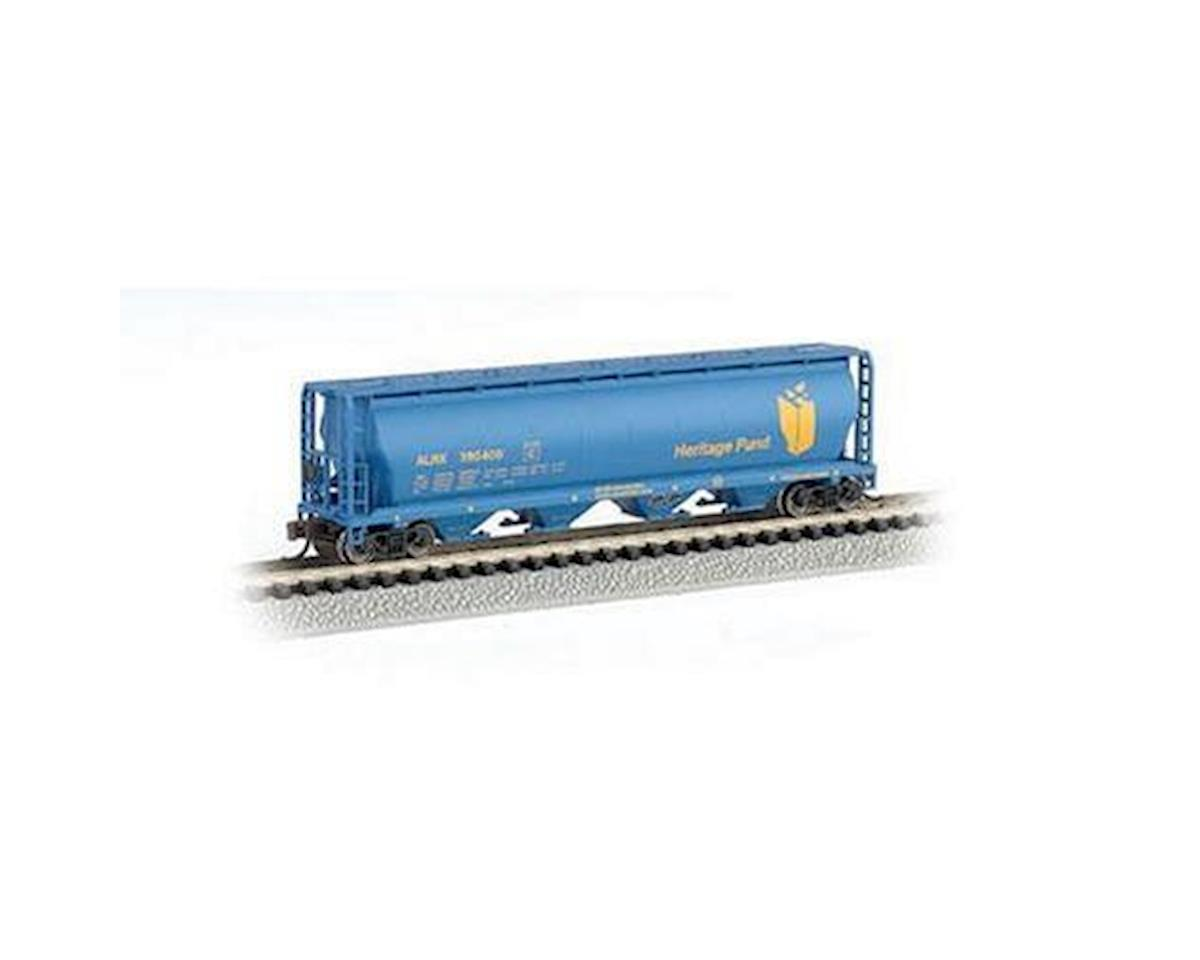 Bachmann Heritage Fund 4-Bay Cylindrical Grain Hopper (N Scale)