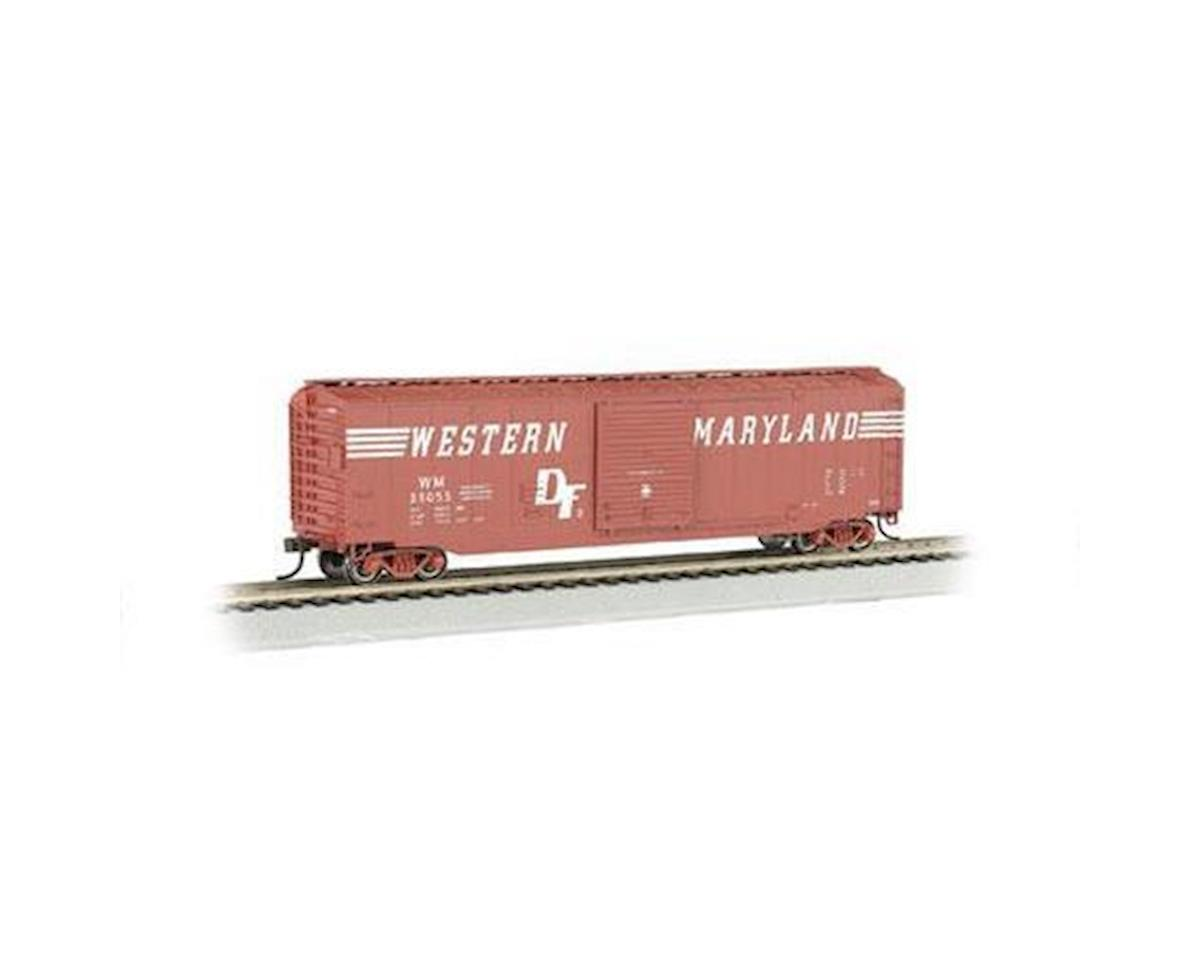 Bachmann HO 50' Sliding Door Box, WM/Speed