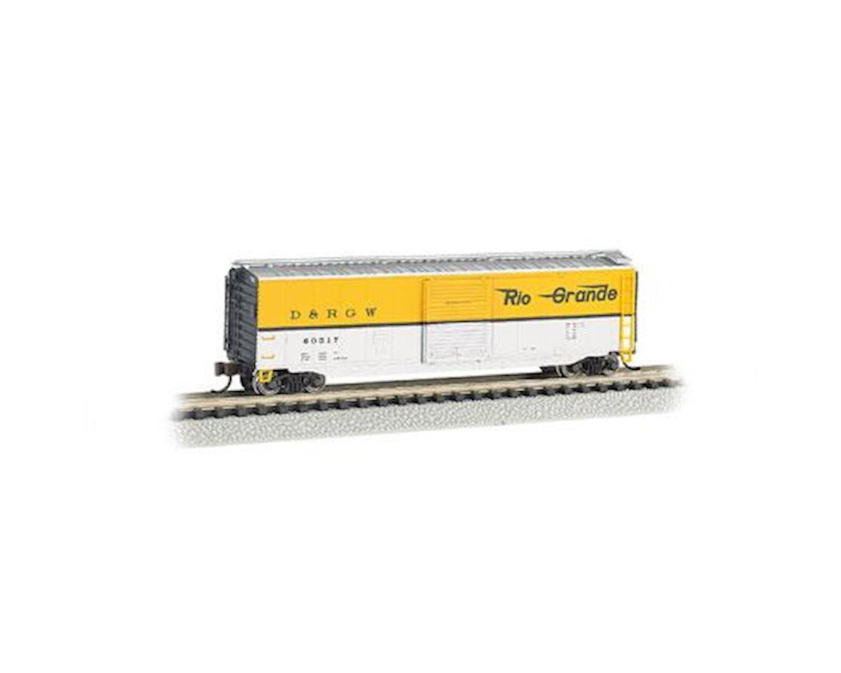Bachmann N 50' Sliding Door Box, D&RGW