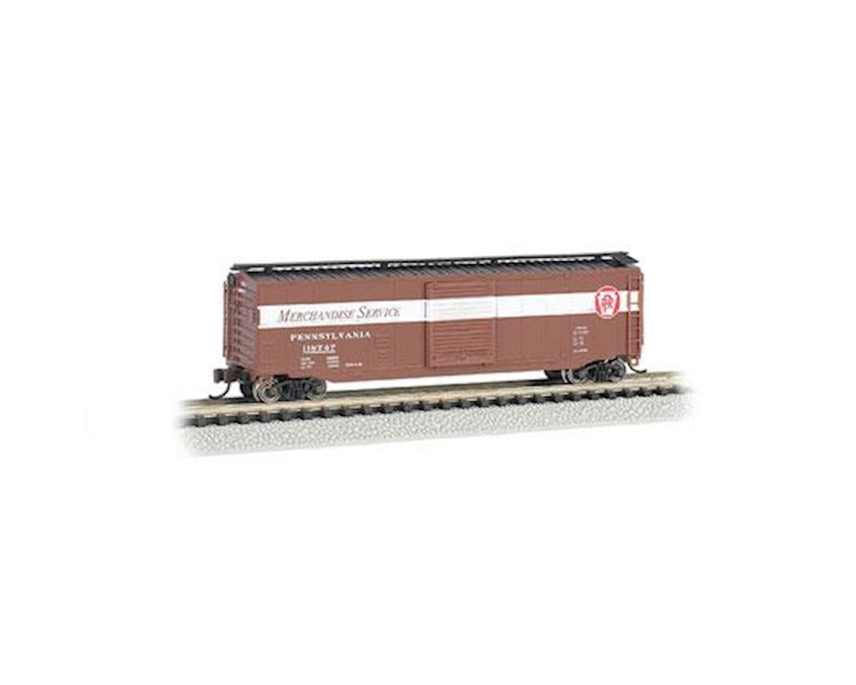 Bachmann N 50' Sliding Door Box, PRR/Merchandise Service