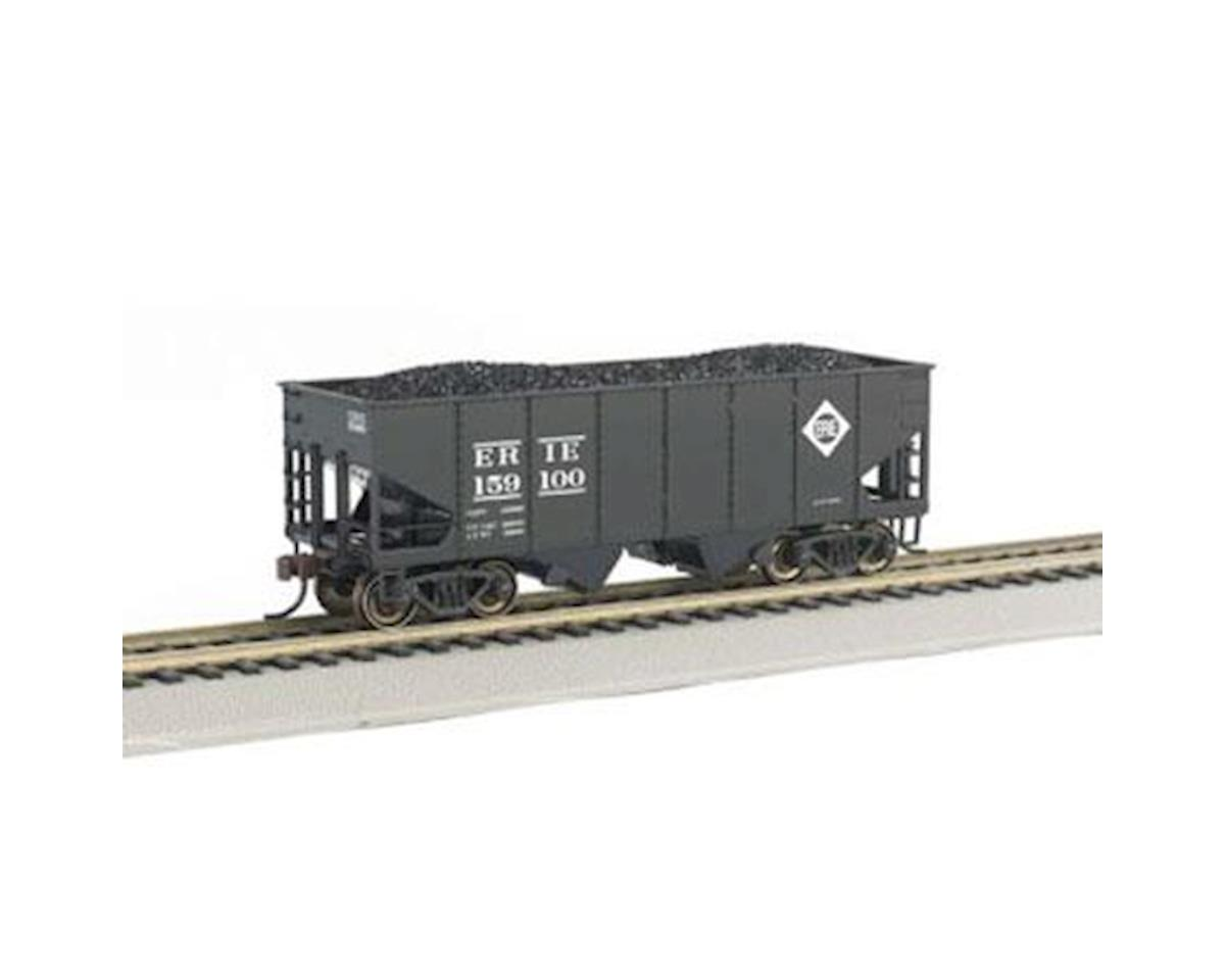 Bachmann HO 55-Ton 2-Bay Hopper w/Coal Load, Erie