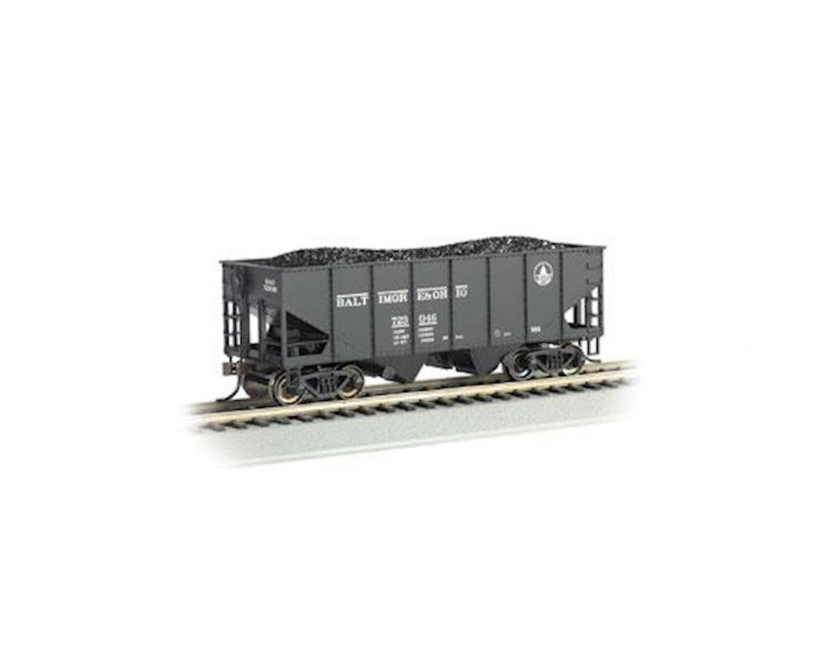Bachmann HO 55-Ton 2-Bay Hopper w/Coal Load, B&O #723 046
