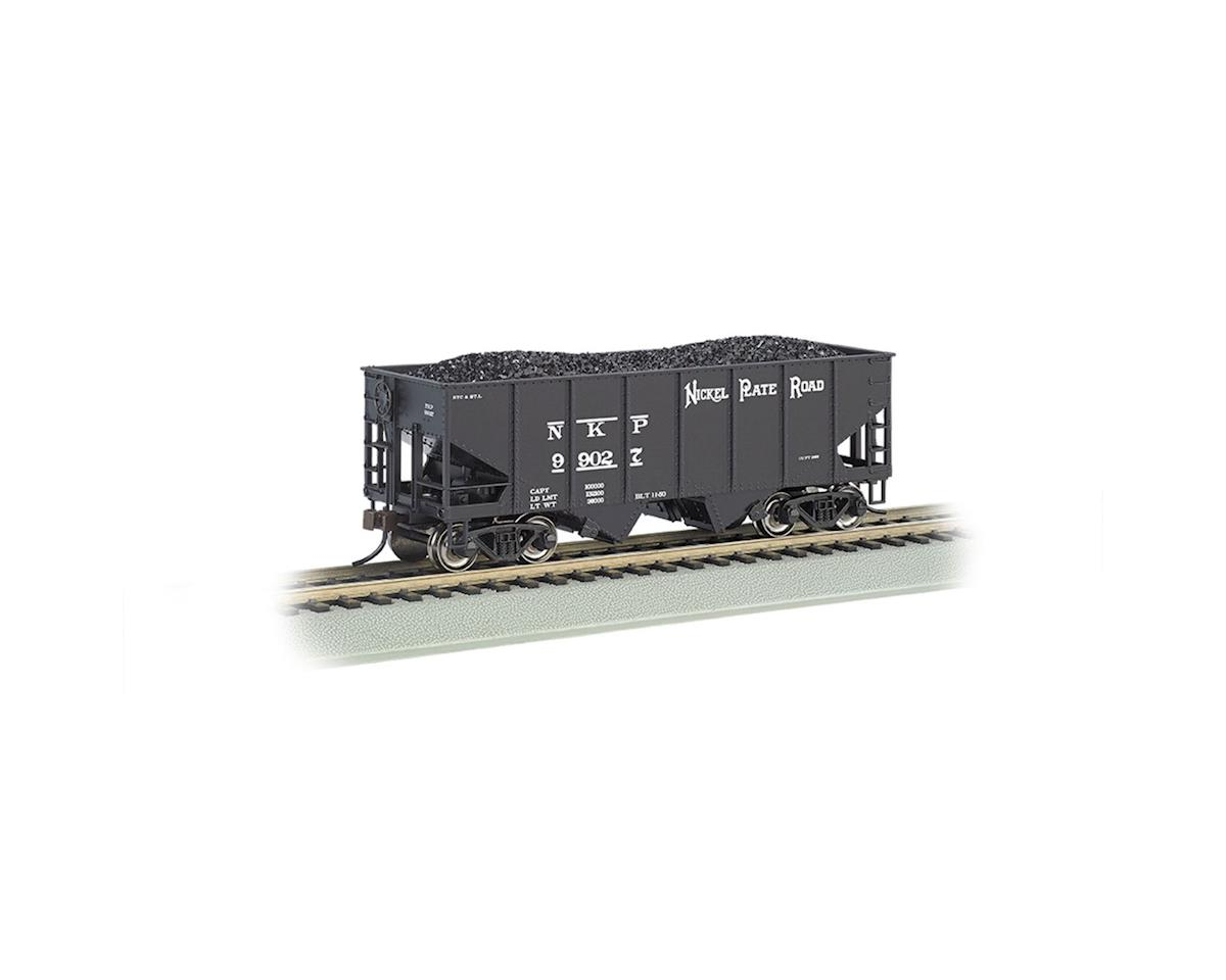 Bachmann HO 55-Ton 2-Bay Hopper w/Coal Load, NKP