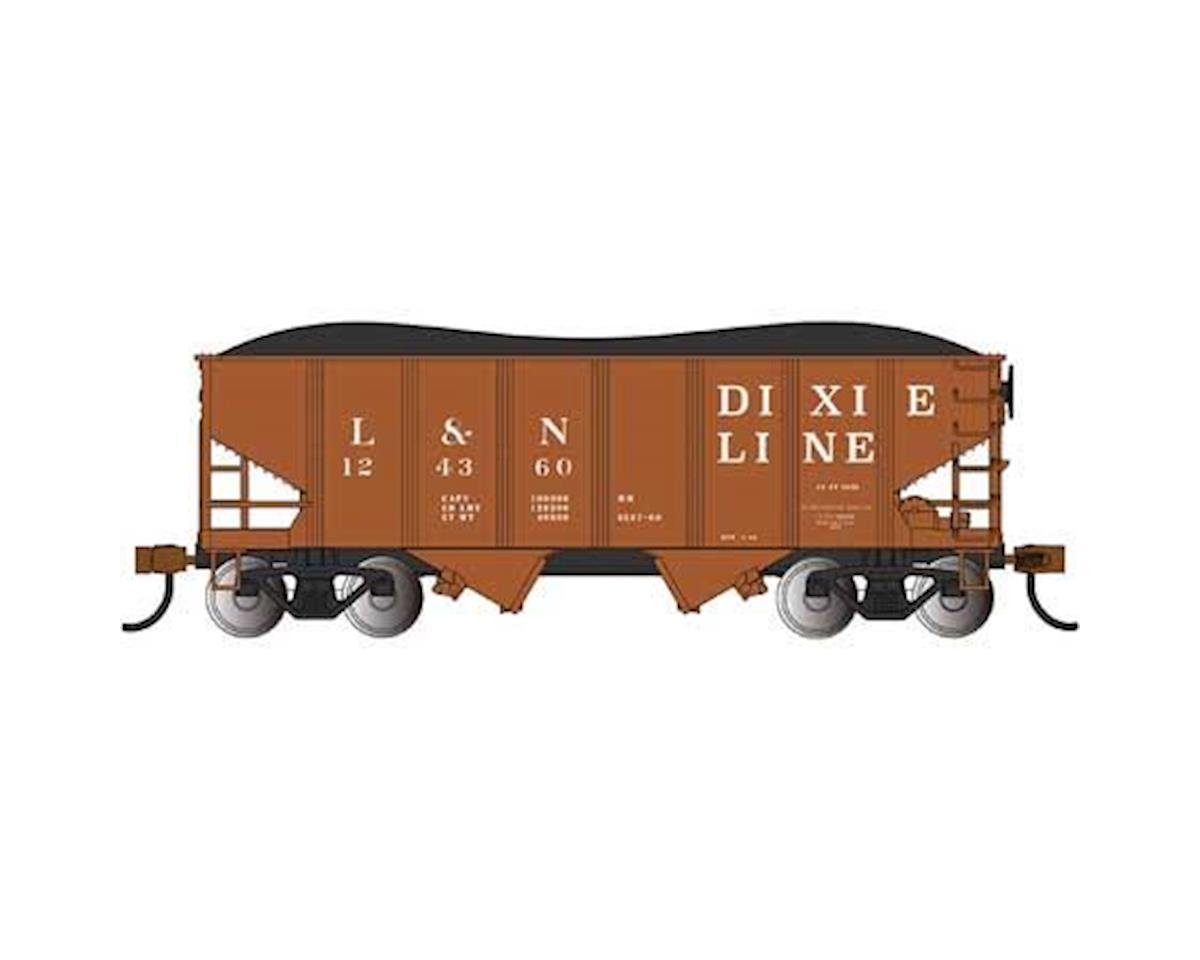 Bachmann N 55-Ton 2-Bay Hopper, L&N/Dixie Line