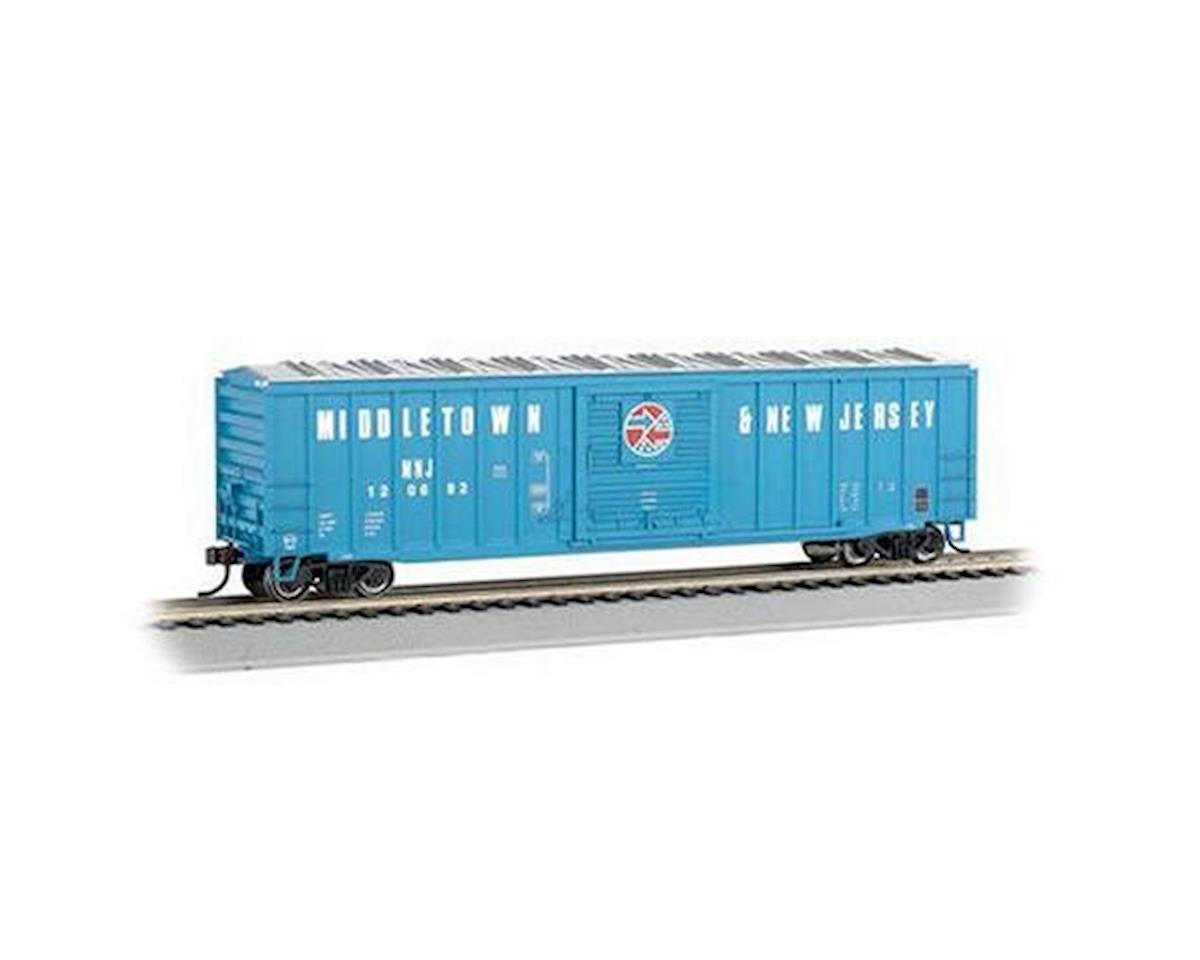 "Bachmann HO ACF 50' 6"" Sliding Door Box, M&NJ"