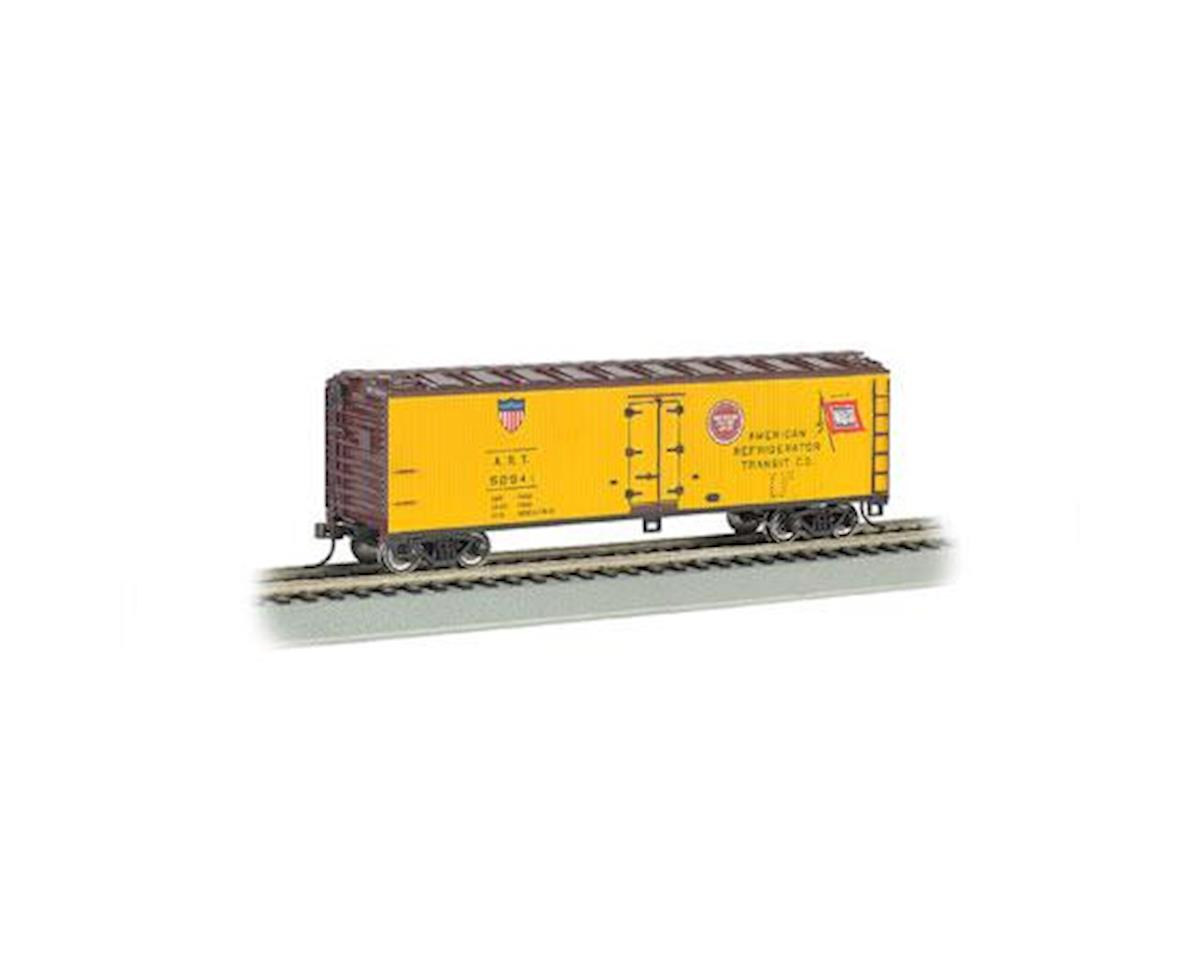 Bachmann N 40' Wood Side Reefer, ART
