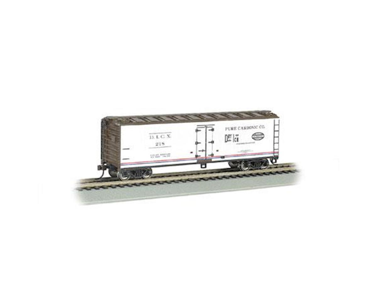 Bachmann N 40' Wood Side Reefer, Pure Carbonic