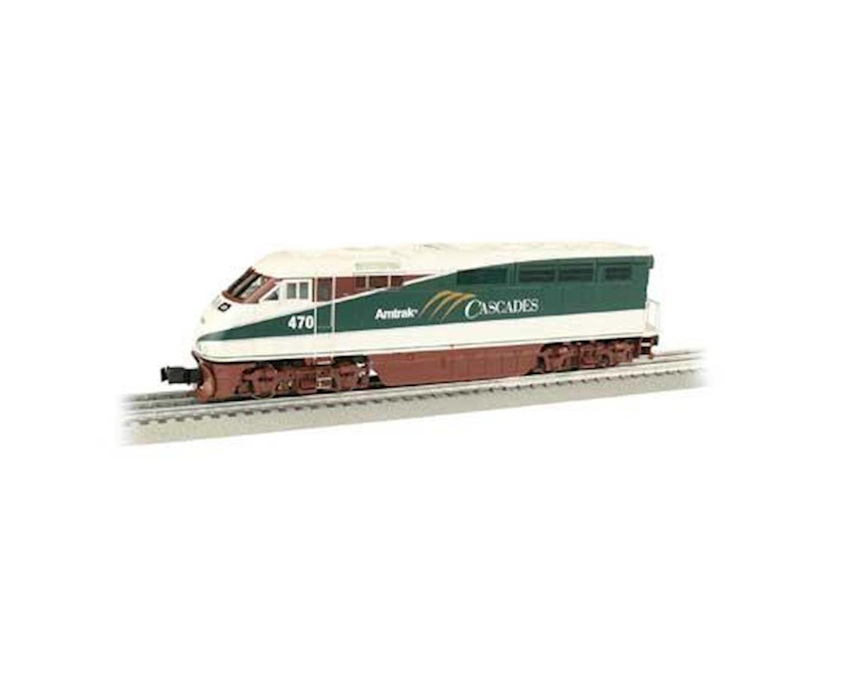 O Williams F59PHI, Amtrak/Cascades #470 by Bachmann