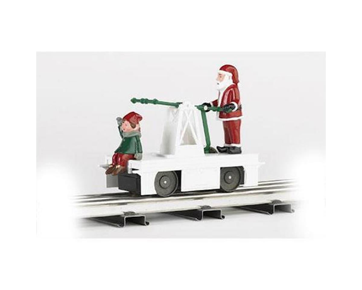 Bachmann O-27 Williams Operating Handcar, Christmas