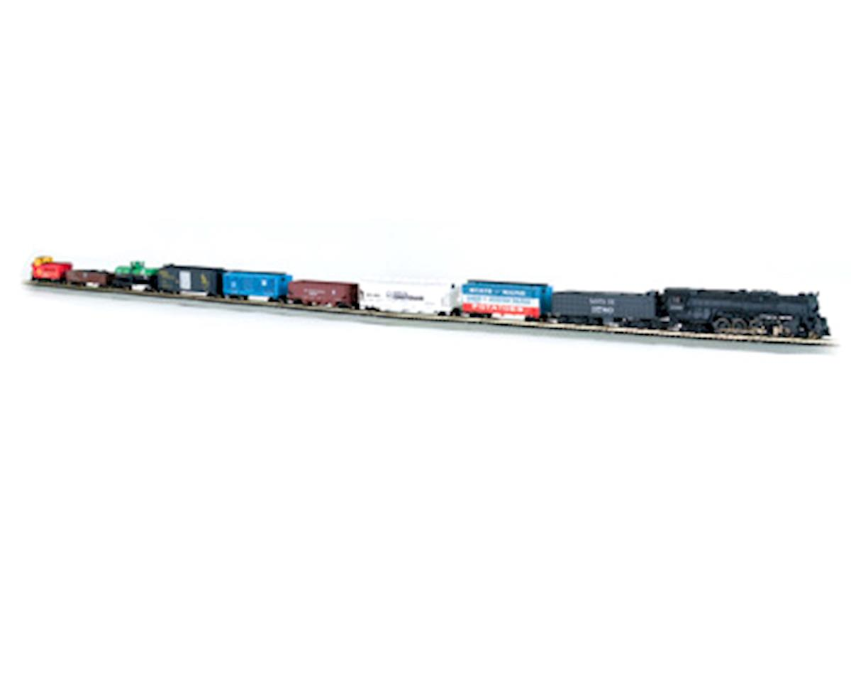 N-Scale Empire Builder Train Set (Santa Fe) by Bachmann