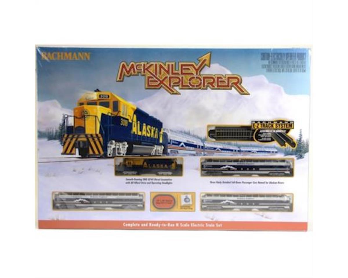 Bachmann N McKinley Explorer Train Set
