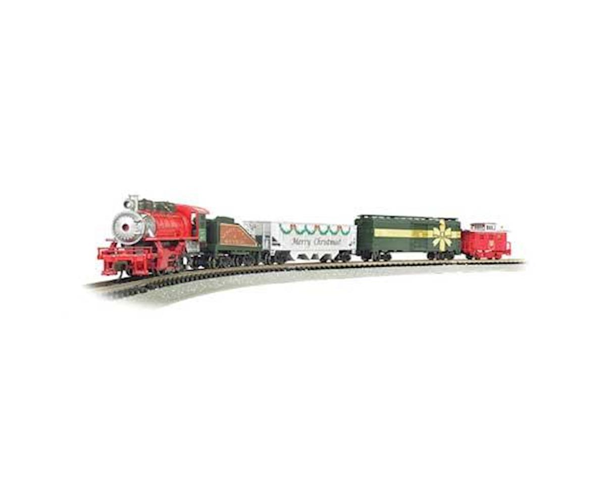 Bachmann Merry Christmas Express Train Set (N Scale)