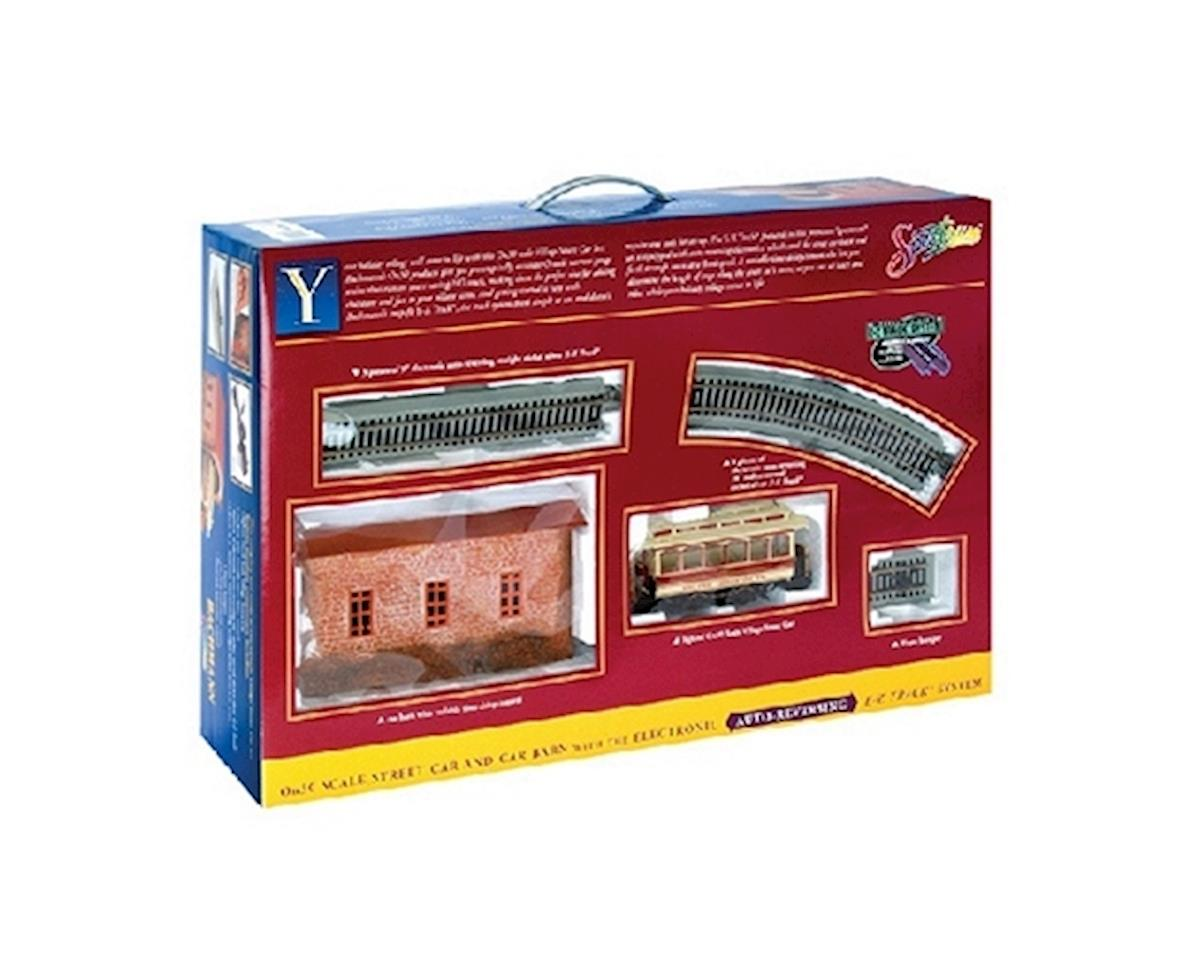 On30 Spectrum Street Car Set, Christmas by Bachmann