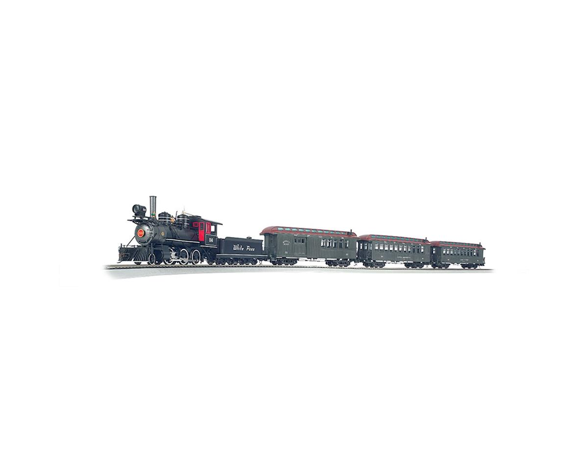 Bachmann On30 White Pass & Yukon Passenger Train Set