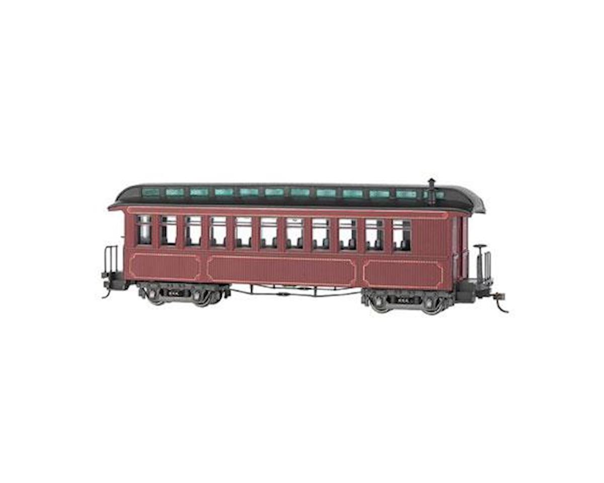 Bachmann On30 Spectrum Convert Coach/Observation, Burgundy