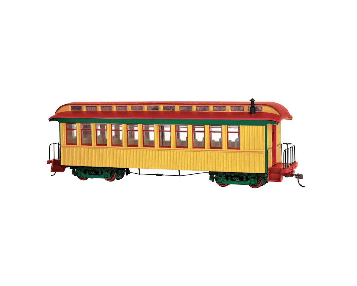 Bachmann On30 Spectrum Covert Coach/Observation, Yellow/Red