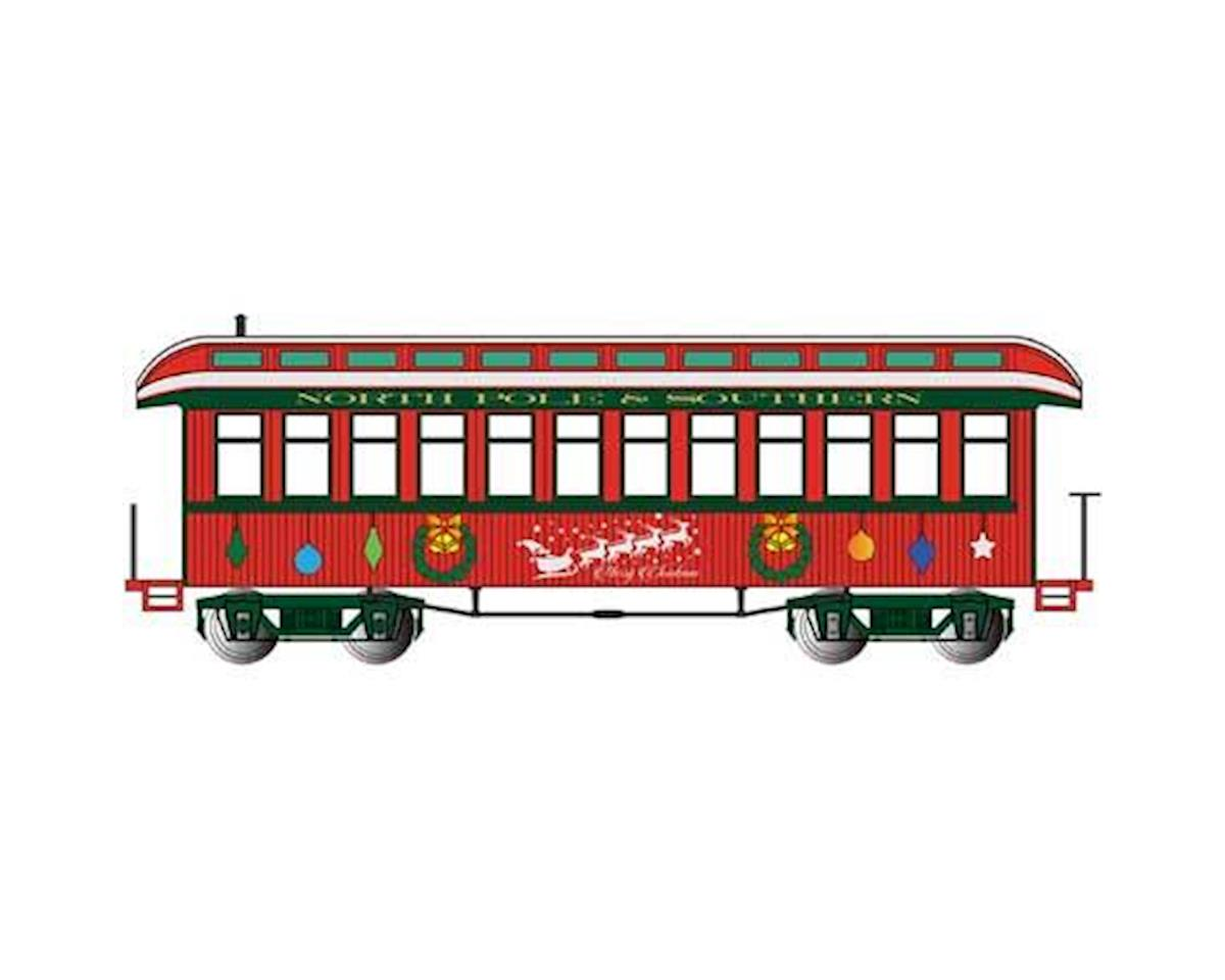 Bachmann Christmas Observation Coach w/ Lighted Interior (On30 Scale) | relatedproducts