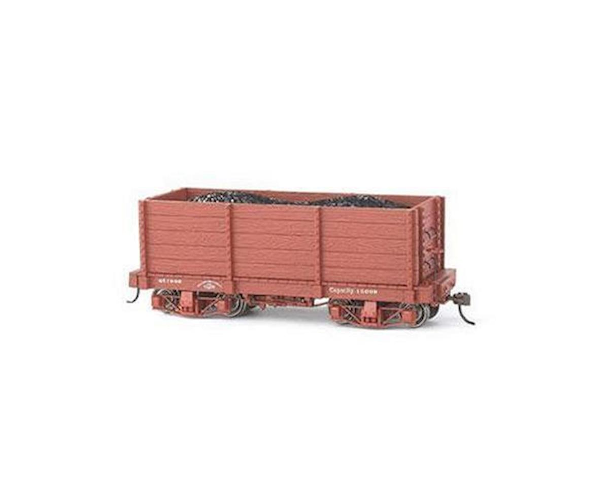 Bachmann On30 Spectrum 18' High-Side Gondola,Undecorated(2)