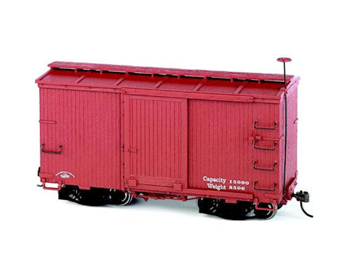 Bachmann On30 Spectrum 18' Box w/Murphy Roof, Undec Red (2)