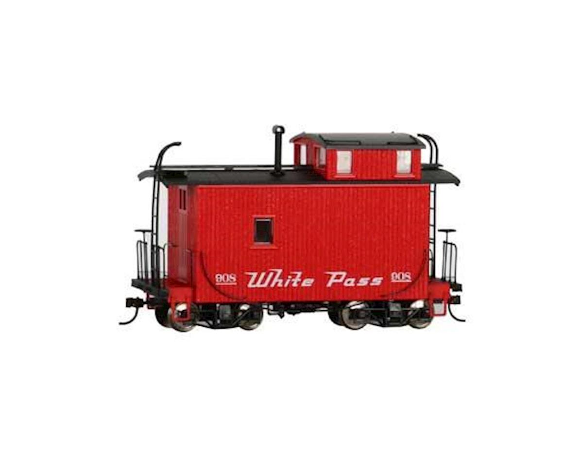 Bachmann On30 18' Offset Cupola Caboose, WP&Y