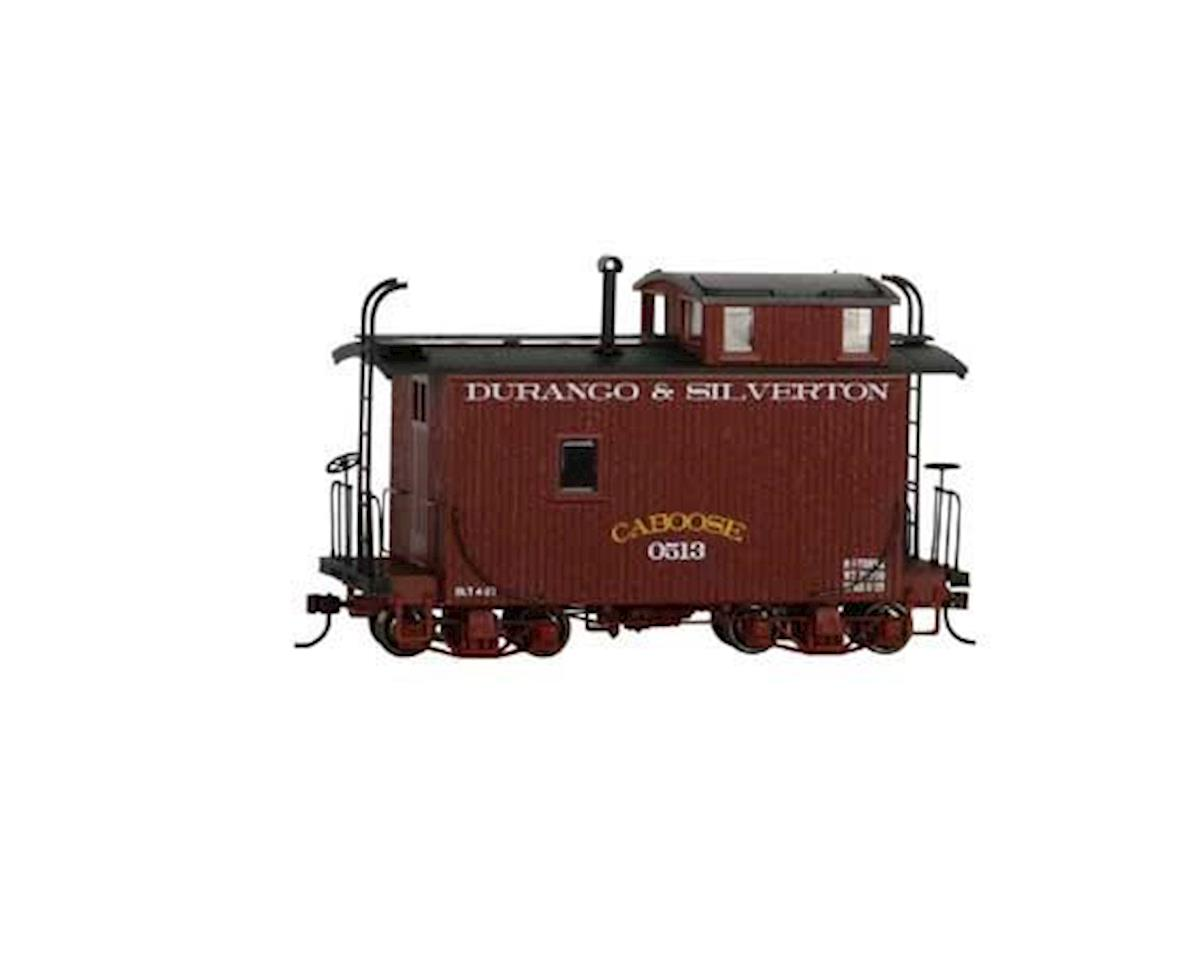 Bachmann On30 18' Offset Cupola Caboose, DSNG