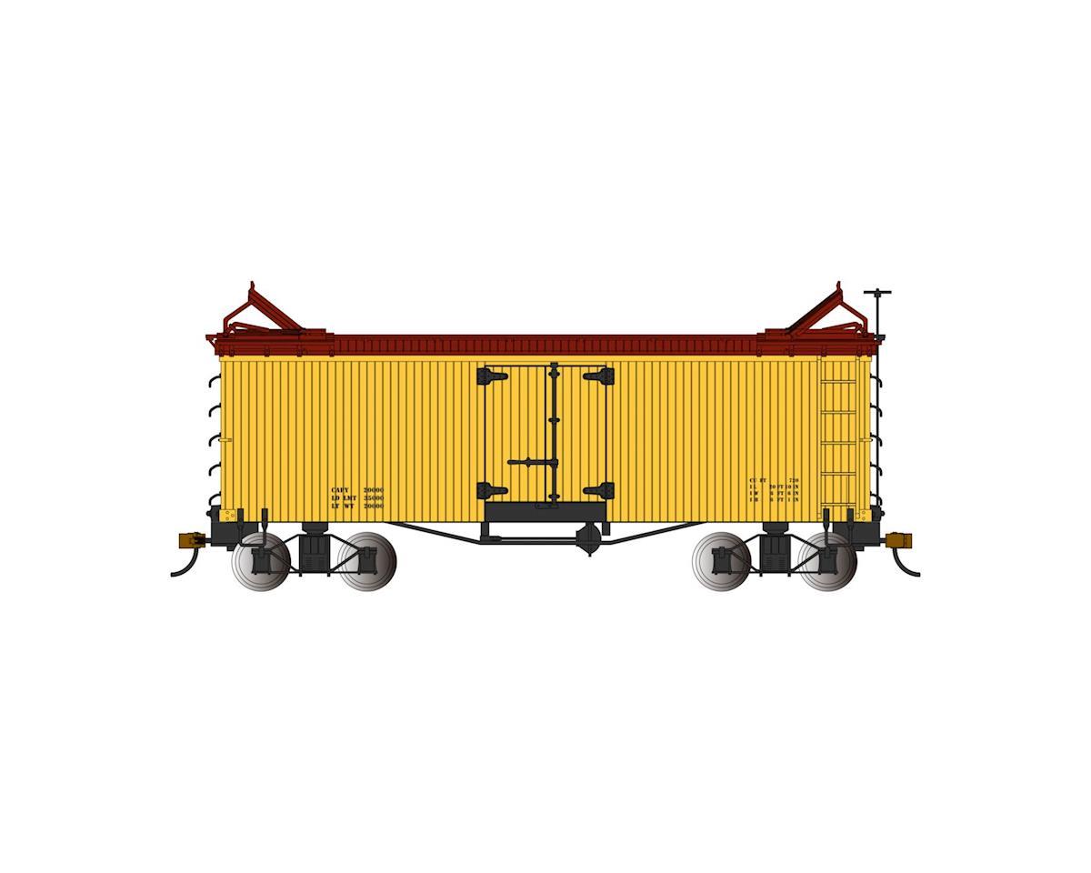 Bachmann Reefer (Yellow w/Brown Roof & Ends) (On30 Scale) | relatedproducts