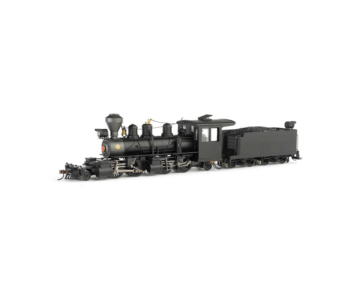 Bachmann On30 Spectrum 2-4-4-2 Steel Cab & DCC, Undec/Blk