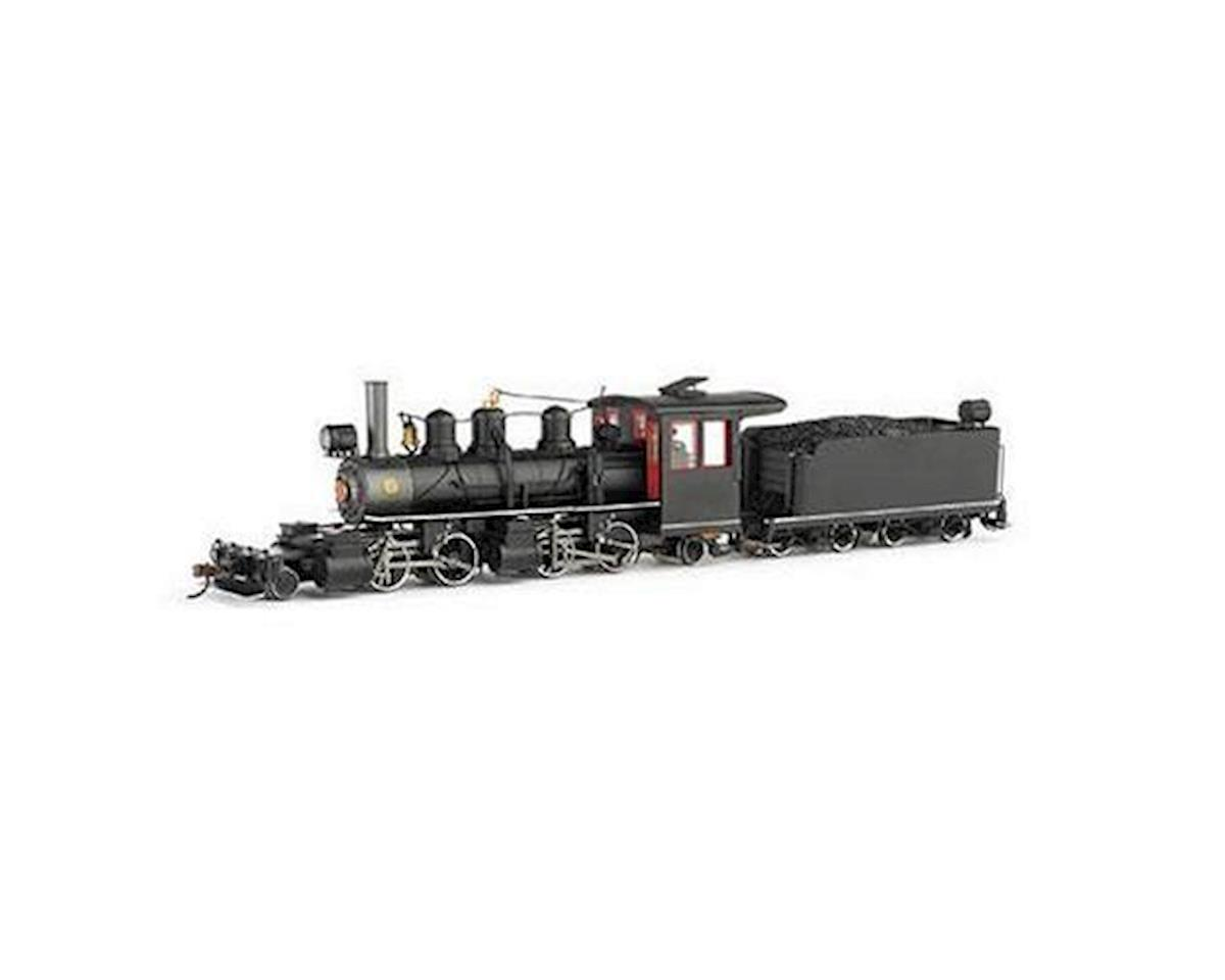 Bachmann On30 Spectrum 2-4-4-2 Steel Cab&DCC,Undec/Bk/Rd/Wh