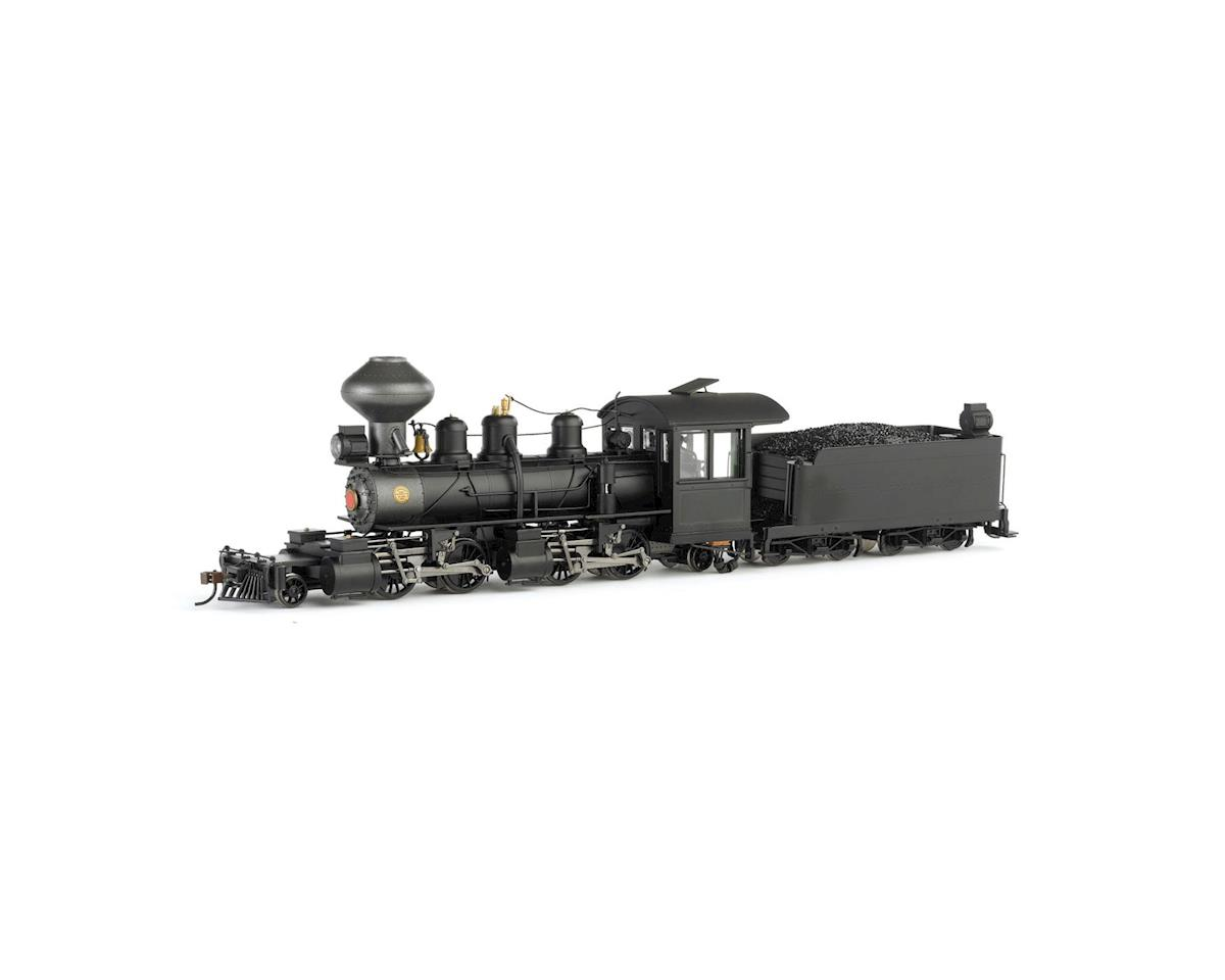 Bachmann On30 Spectrum 2-4-4-2 Wood Cab & DCC, Undec/Blk