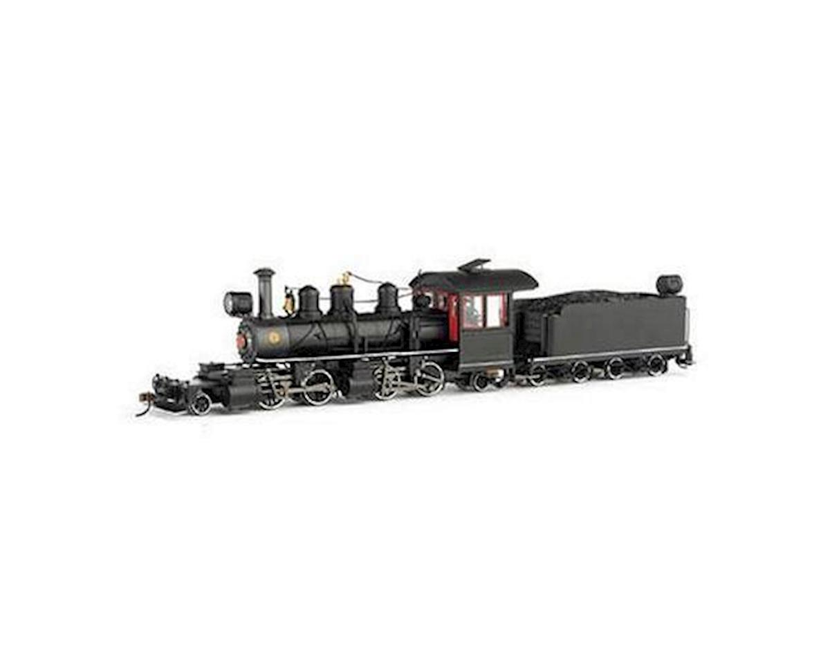 Bachmann On30 Spectrum 2-4-4-2 Wood Cab/DCC,Undec/Blk/Rd/Wh