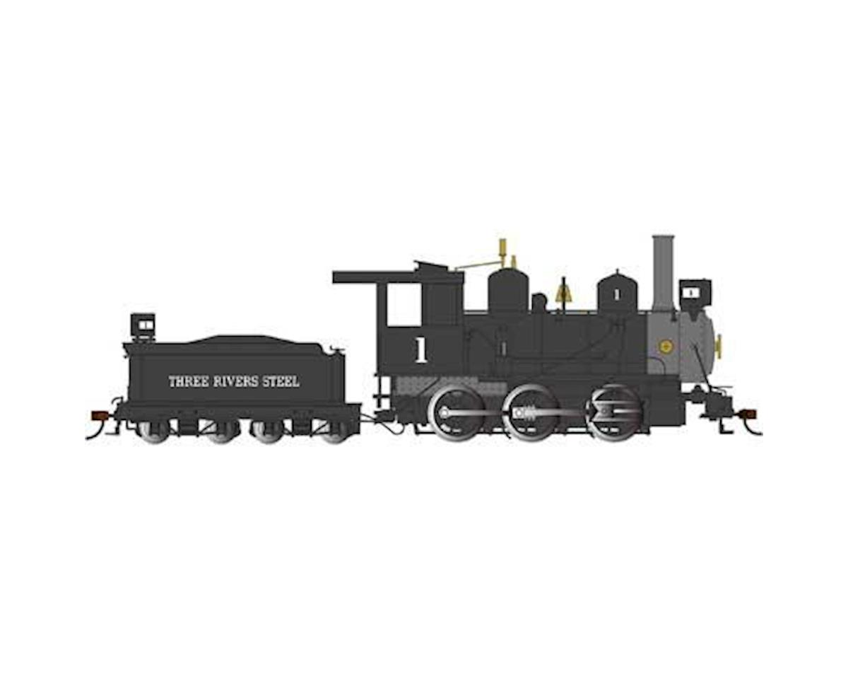 Bachmann On30 Spectrum 0-6-0 w/DCC, Three Rivers Steel