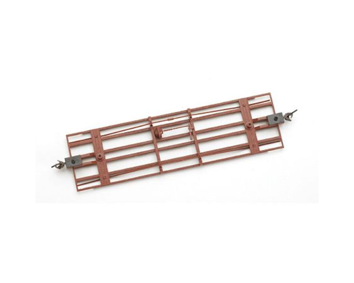 Bachmann On30 Spectrum Freight Car Underframe, Red (3)
