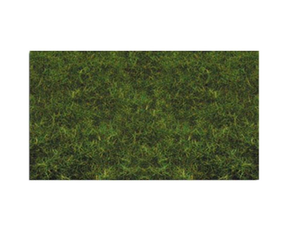 "Bachmann 2mm 11' x 5.5"" Static Grass, Medium Green"