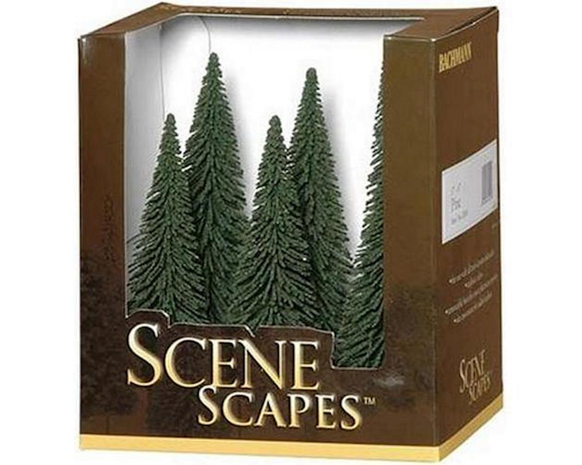 """Scenescapes Pine Trees, 5-6"""" (6) by Bachmann"""