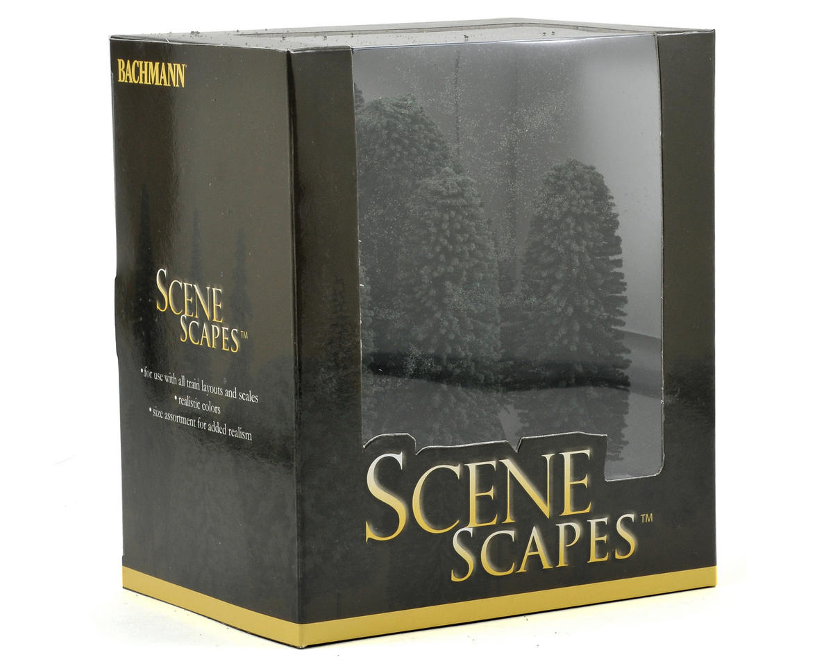 "Bachmann Scenescapes 5-6"" Cedar Trees (6)"