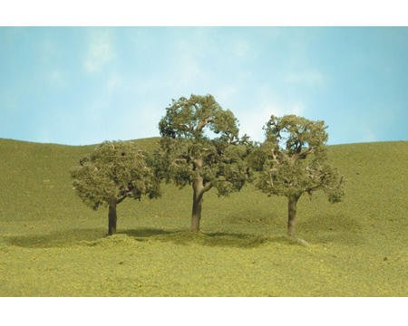 "Bachmann Scenescapes 2.5-3.5"" Walnut Trees (3)"